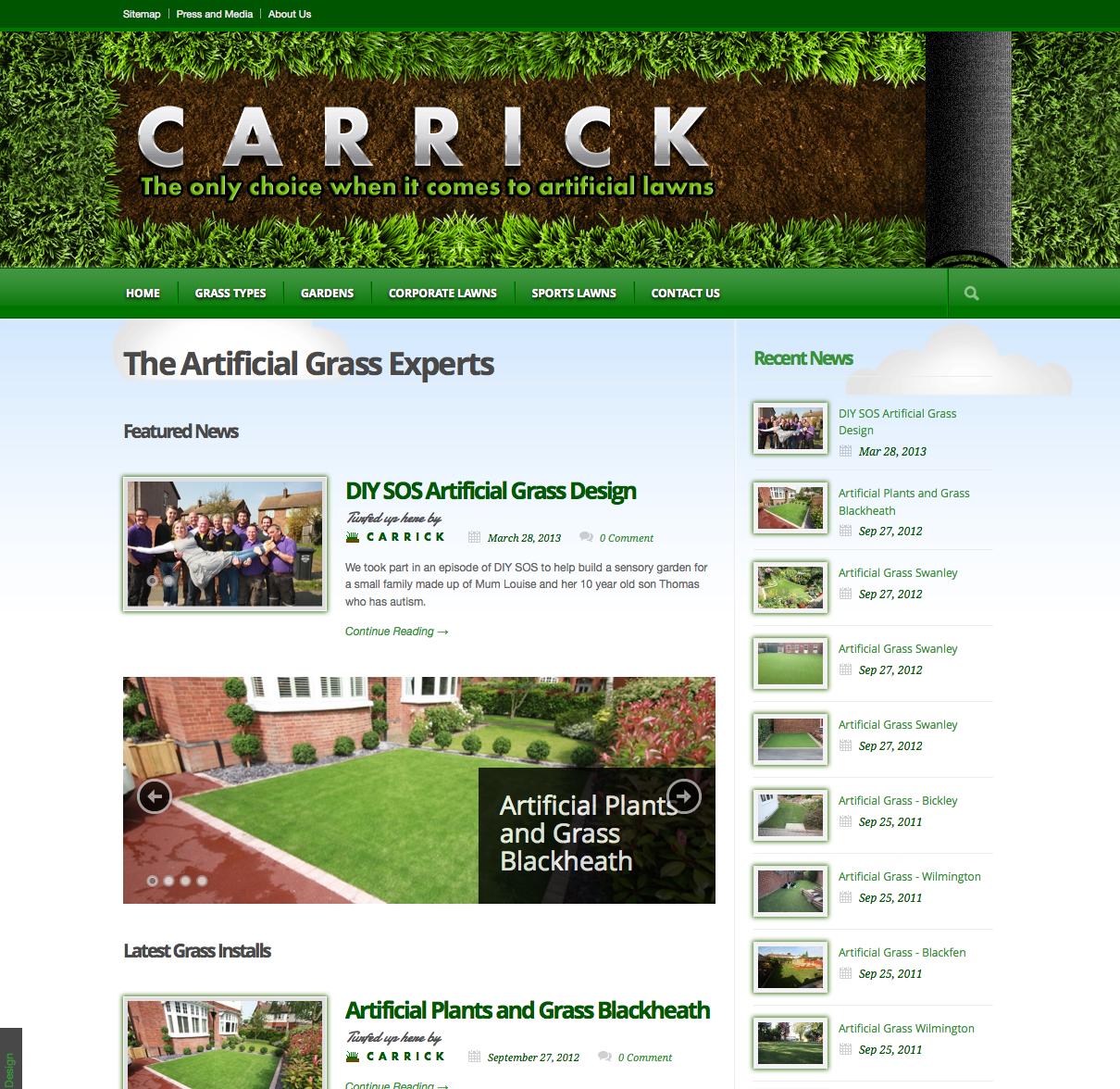 Carrick Artificial Grass