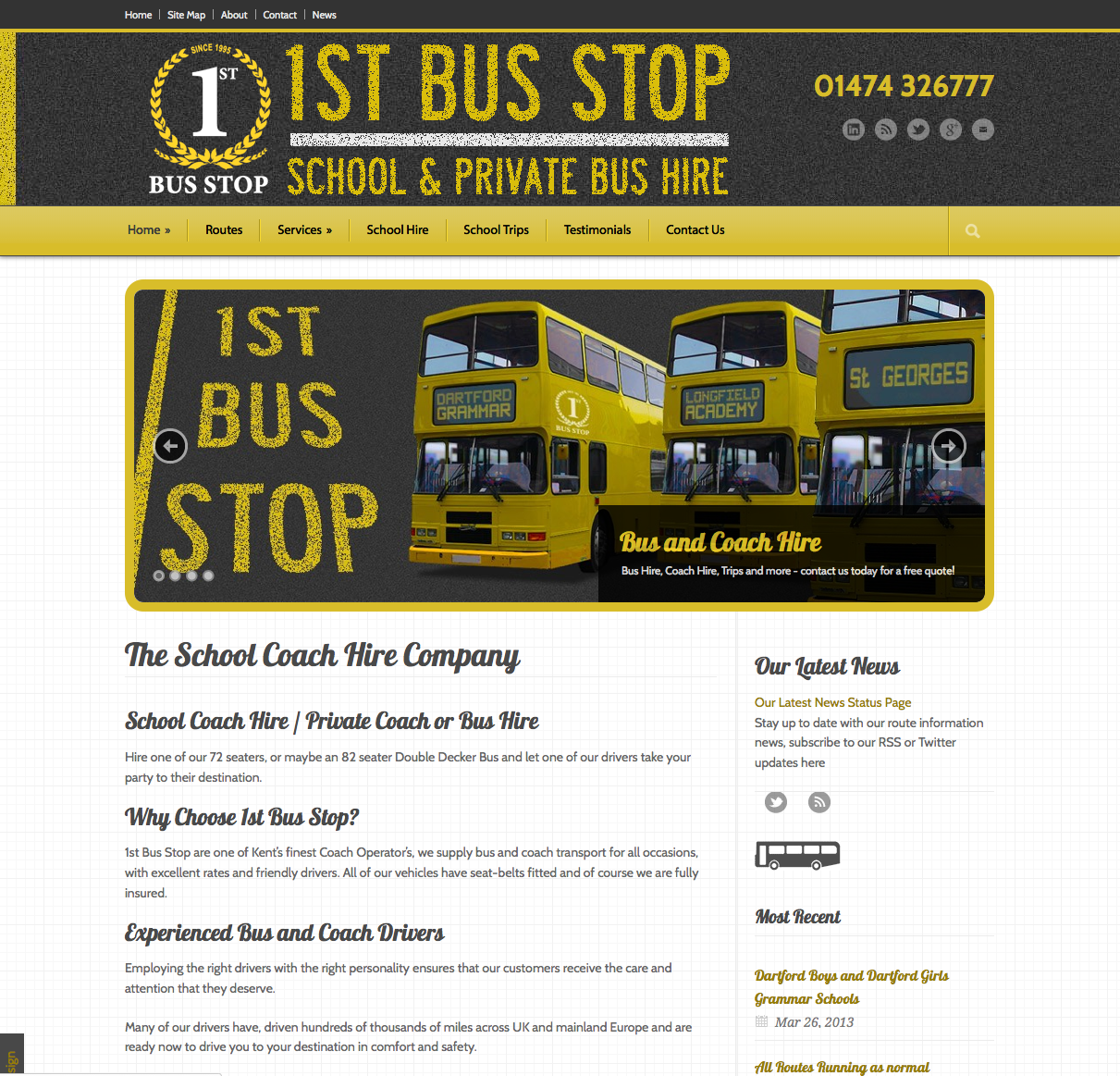 1st Bus Stop