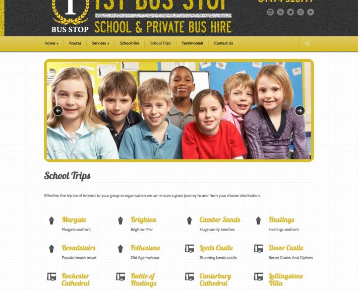 1st Bus Stop Website