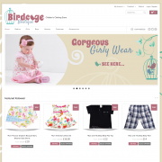 Birdcage Boutique Website