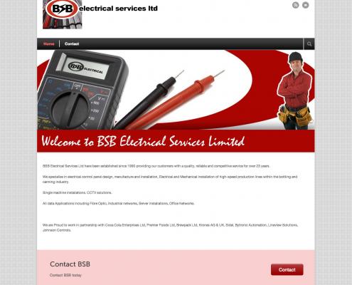 BSB Electrical Website