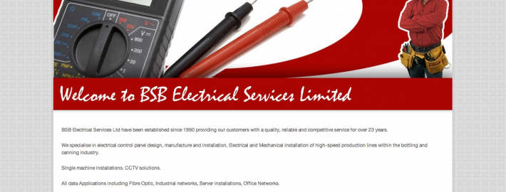 BSB Electrical Website