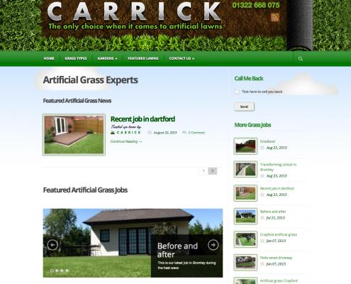Carrick Website