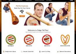 Didge Tall Paul Website