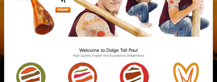 Didge Tall Paul Website