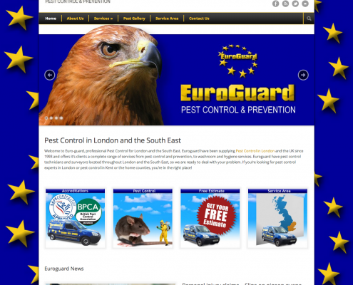 Euroguard Services Website