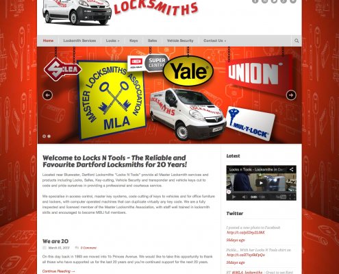 Locks and Tools Website