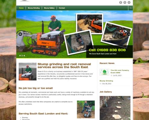 Green & Co Website